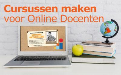 Cursussen maken voor Online Docenten